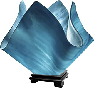 product image for Jezebel Radiance VALA-FP16-SKY Flame Vase Lamp, Large, Sky Blue