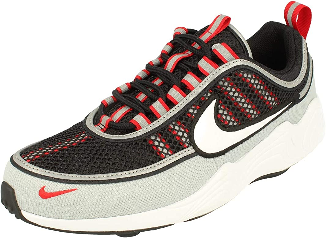 Nike Air Zoom Spiridon 16, Zapatillas de Running para Hombre, Multicolor (Black/White/Wolf Grey/University Red 010), 45 EU: Amazon.es: Zapatos y complementos