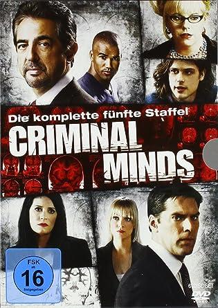 Criminal Minds Die Komplette Fünfte Staffel 6 Dvds Amazon