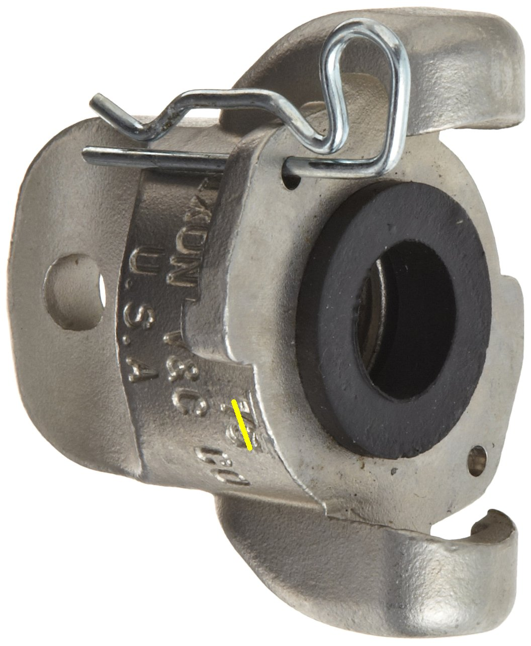 2 Lug Universal Coupling with Blank End Dixon Air King RAM0 Stainless Steel 316 Air Hose Fitting