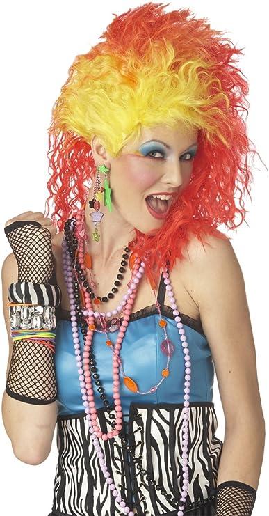 Cyndi Lauper 80s Wig