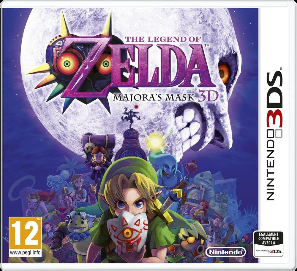 The Legend Of Zelda: Majoras Mask 3D [Importación Francesa ...