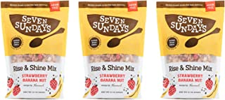 product image for Seven Sundays Rise & Shine Banana Berry Grain Free Muesli Cereal (10 Oz, Pack Of 3) | Paleo Friendly | Gluten Free Certified | No Sugar Added | Non-Gmo Verified