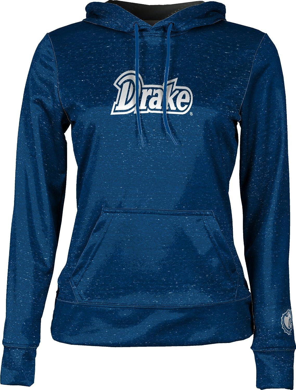 School Spirit Sweatshirt ProSphere Drake University Girls Pullover Hoodie Heathered
