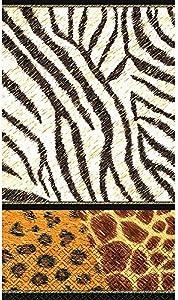 Animal Prints Guest Paper Towels | 16 Ct. | 4