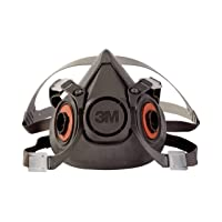 Deals on 3M Half Facepiece Reusable Respirator Large 6300