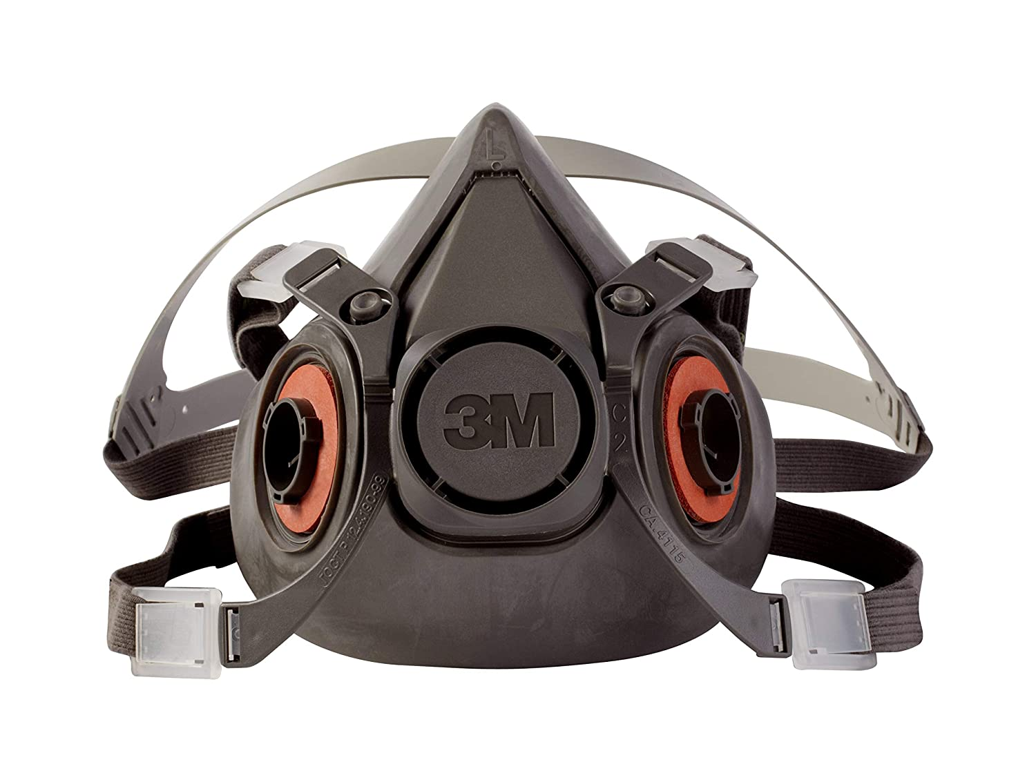 3M Half Facepiece Reusable Respirator 6300/07026(AAD), Respiratory Protection, Large (Pack of 1)