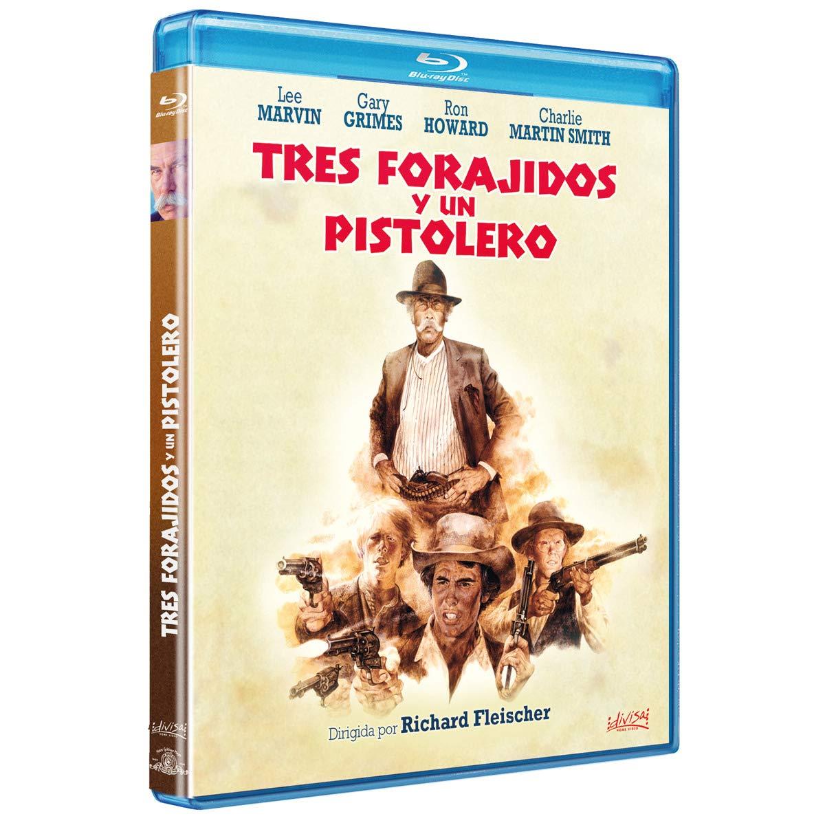 Tres Forajidos y un Pistolero [Blu-ray]: Amazon.es: Lee Marvin ...