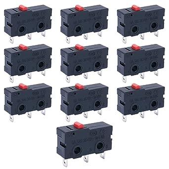Limit switch short arm 5a 125v 250v 3 pin by 1-5-10pcs micro switch