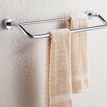 sunhai & luz todo cobre doble toalla toalla de Bar para colgar toalla de baño accesorio