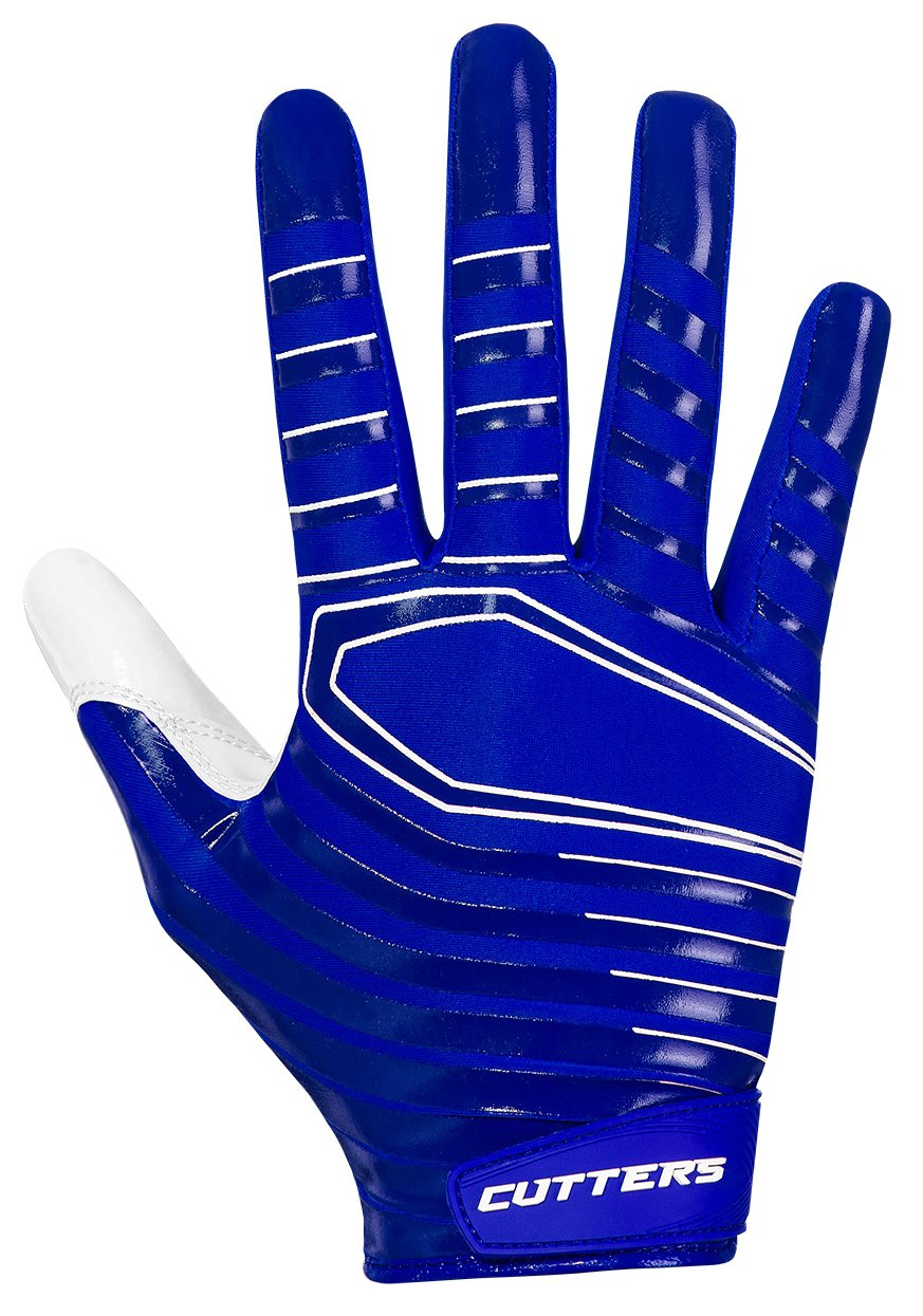 Cutters Gloves S252 Rev 3.0 Receiver Gloves, Royal, Large by Cutters