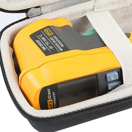 Khanka Hart Tasche Case Für Fluke Infrarot Thermometer Fl62maxplus Etui Schutzhülle Nur Tasche Gewerbe Industrie Wissenschaft
