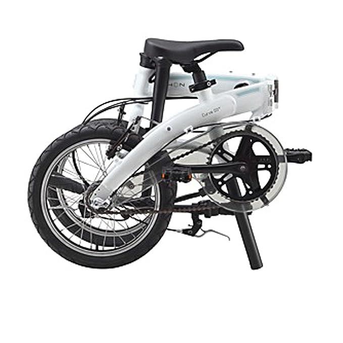Dahon Faltrad CURVE i3 3 Gang Cloud 16 Zoll Weiß Klapp Fahrrad Faltrahmen Aluminium Shimano Nexus, 879170: Amazon.es: Deportes y aire libre