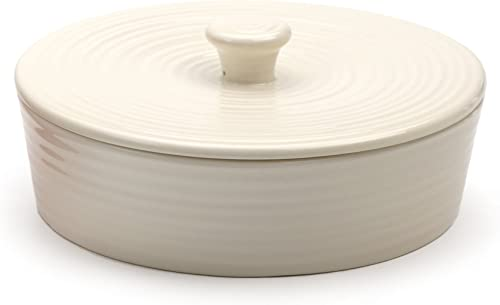 RSVP International (MAIZ-W) White Stoneware Tortilla Warmer & Server