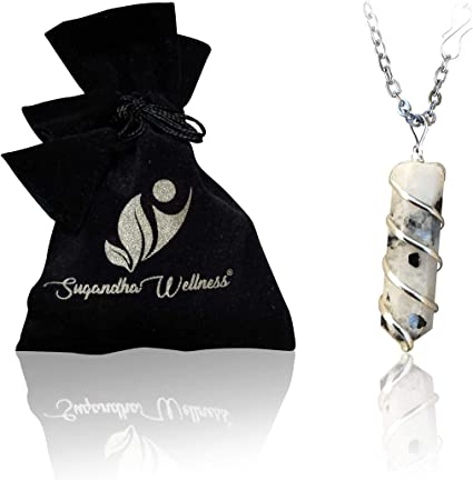 Personality Rock Crystal Special Rope Chian Clear Quartz Necklace Pendant