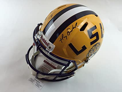 dcdcf0a92ff Image Unavailable. Image not available for. Color  Tyrann Mathieu Autograph  LSU ...