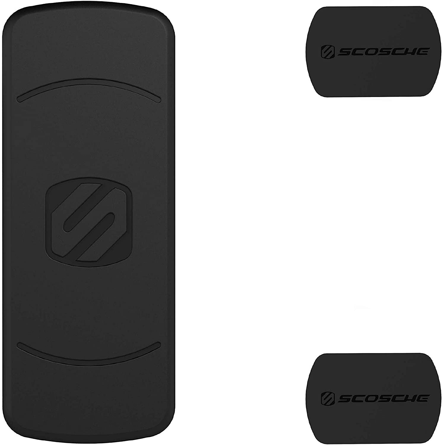 Scosche MDMRK-XCES0 MagicMount Magnetic Mount Replacement Plate Kit for Mobile Devices - Black