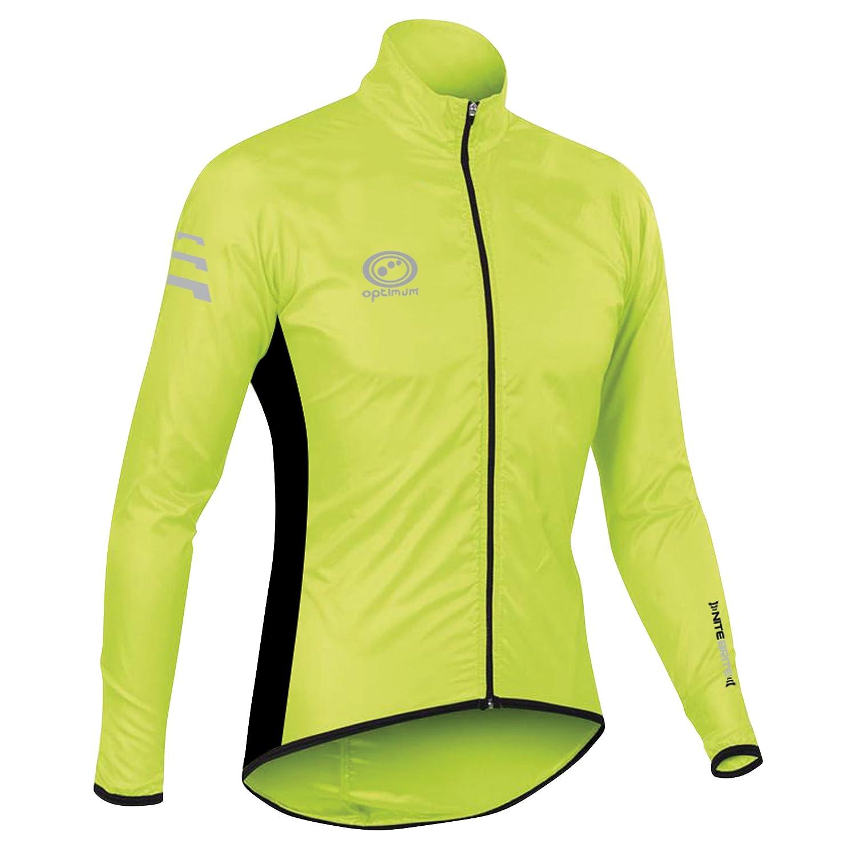 Optimum Men's Nitebrite Rain Jacket: Amazon.co.uk: Sports & Outdoors