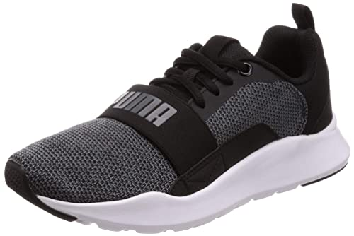 5d3eee9abc2f Puma Men s Wired Knit Black Textile and Rubber Shoes (6)  Buy Online at Low  Prices in India - Amazon.in