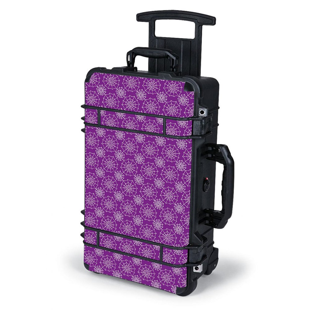 Skin Decal Vinyl Wrap for Pelican Case 1510 Skins Stickers Cover / Spider Web Pattern