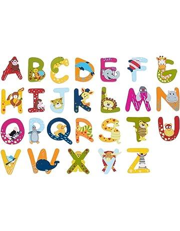 Holzbuchstaben für Kinderzimmer   Amazon.de