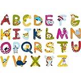 SOLINI Holzbuchstaben mit Tiermotiven
