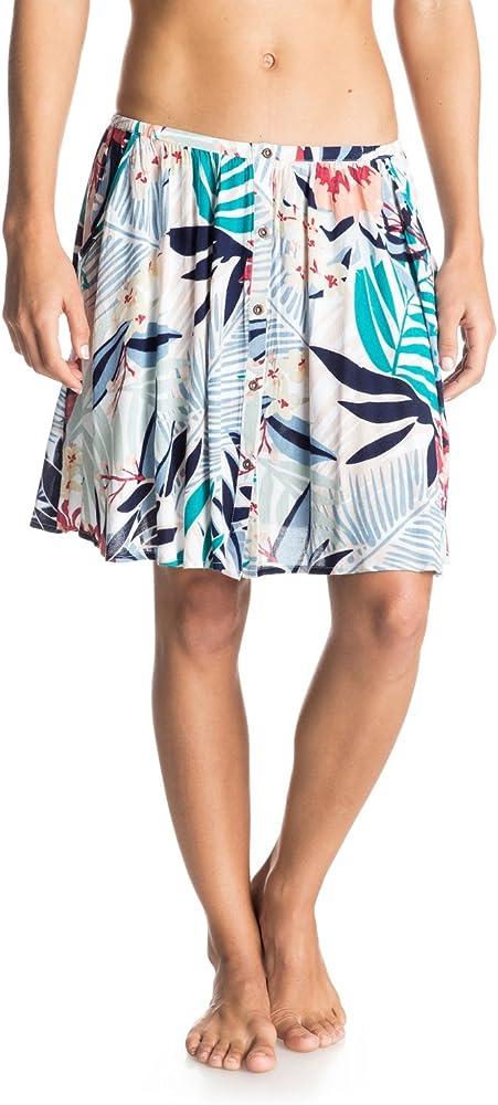Roxy Cosmia Falda para Mujer Canary Islands Floral A Talla:S ...