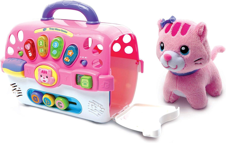 VTech Cosy - Juguete Interactivo para Gatitos, Centro de Actividades para bebé