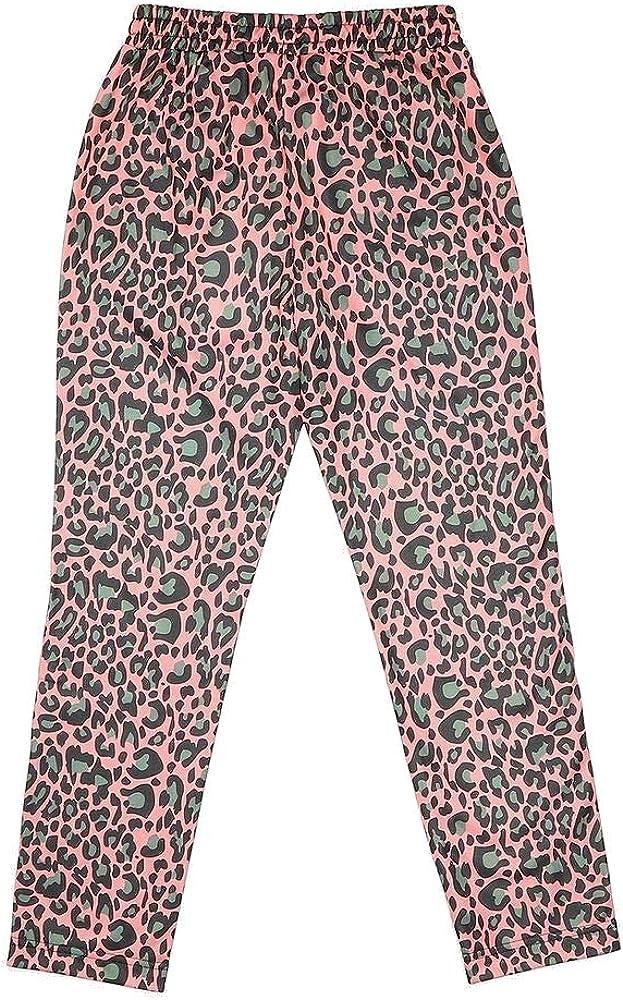 Fila Pantalone Tuta Bambina Stampa Leopard