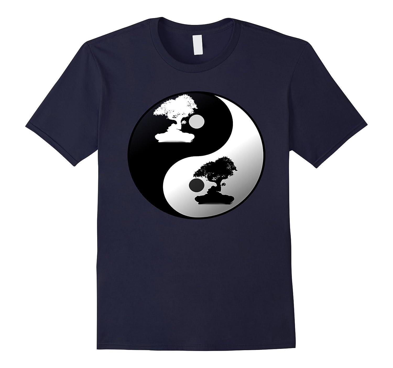ZEN BONSAI YING YANG Graphic T Shirt For Men and Women-Art