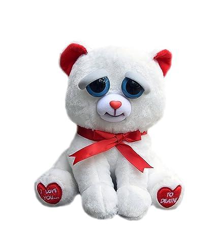 Feisty Pets decoración de la casa regalo de la San Valentín peluche