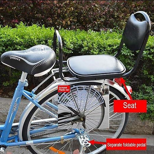 FHGH Silla Bicicleta NiñO,Asiento De Bicicleta/Coche EléCtrico ...