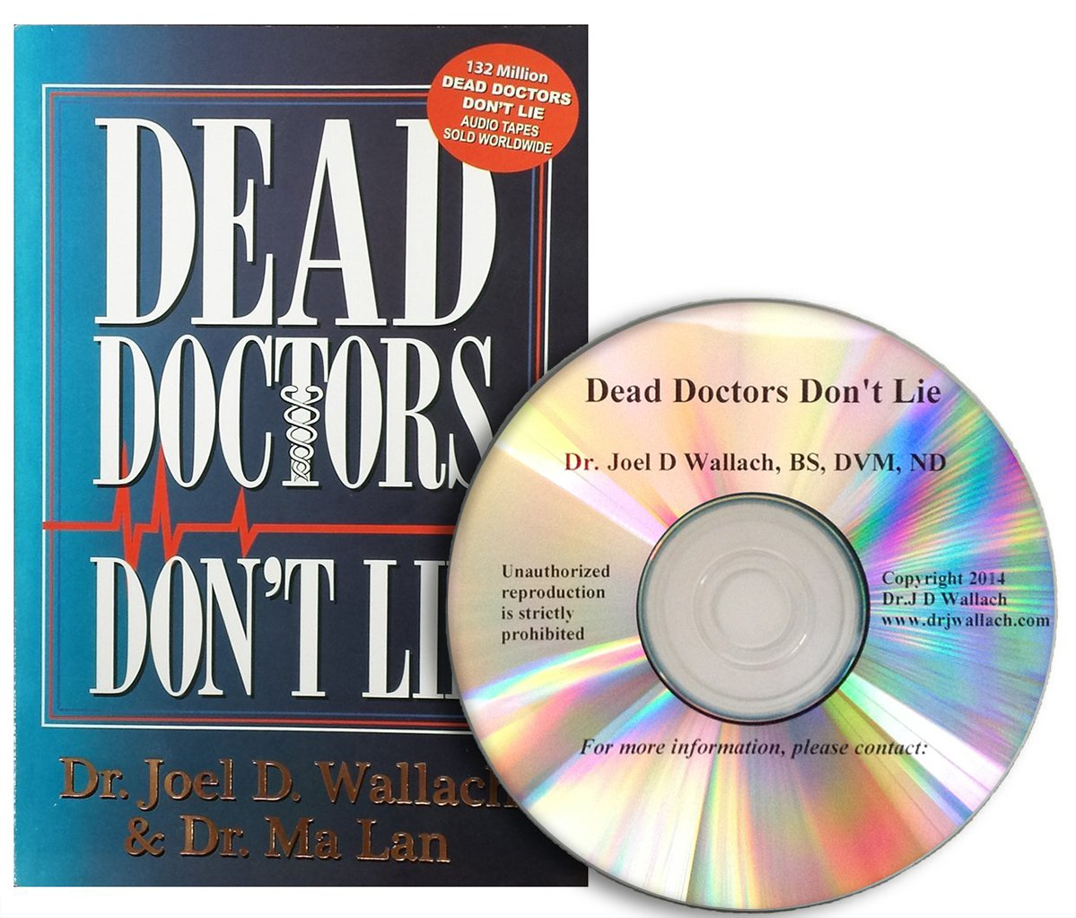 Amazon dead doctors dont lie book cd combo everything else fandeluxe Image collections