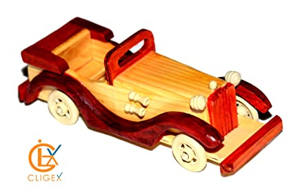 Buy Wooden Vintage Car Online at Low Prices in India - Amazon in