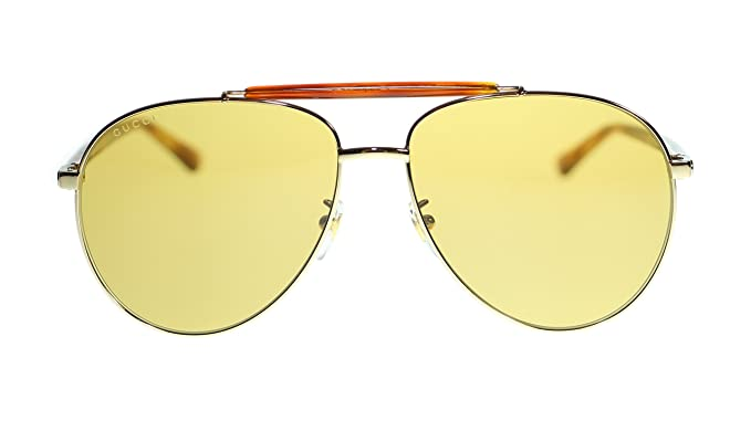 a1127cecc19 Image Unavailable. Image not available for. Colour  Gucci Mens Aviator ...
