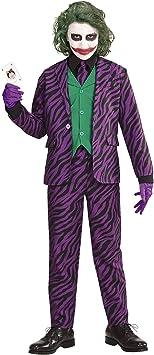 WIDMANN Evil Joker para niños, 140 cm/ ? 10 años, vd-wdm19317 ...