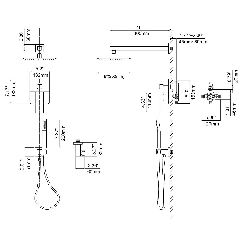 Valve Shower Faucet Diagram Free Download Wiring Diagram Schematic