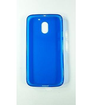 Cas De Gel Turquoise Transparent Pour Motorola Moto E3 Asw87xF1Yl