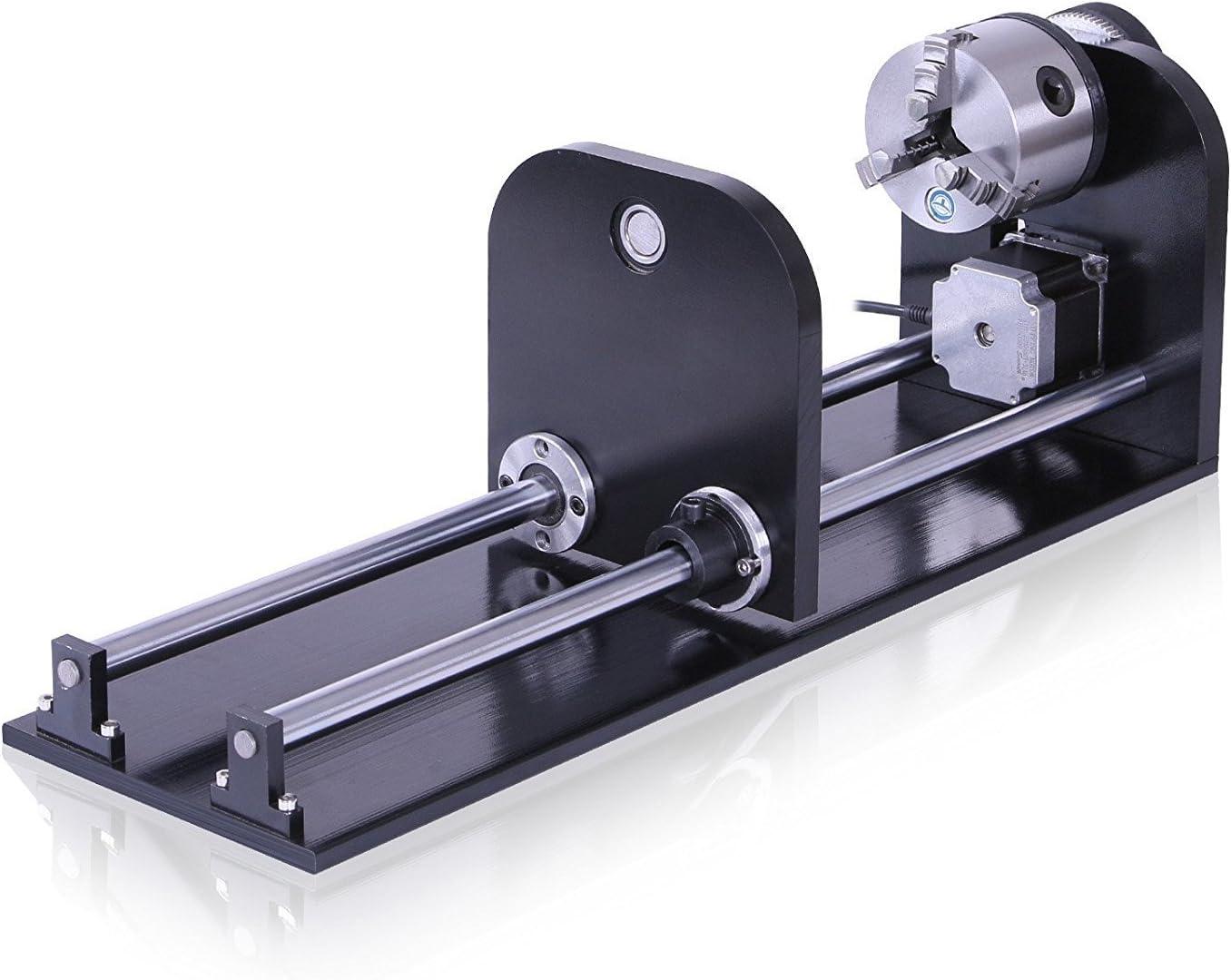60W + Drehachsen + Wasserk/ühler Laser Graviermaschine mit 80mm Router Drehachsen 60W Graviermaschine Co2 Laserengraver 700x500mm Handwerk Schneiden mit CW-3000AG Wasserk/ühler