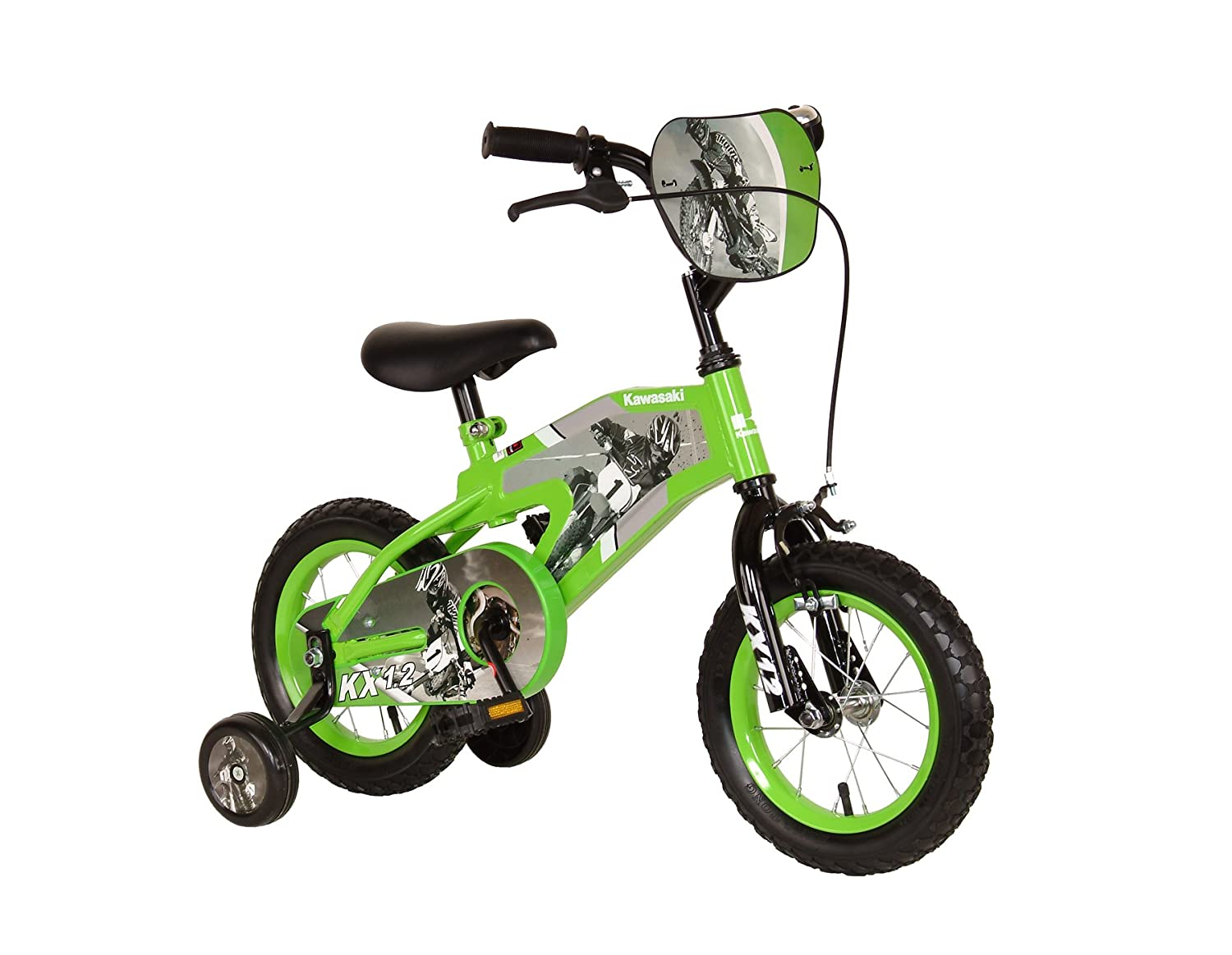 Kawasaki Monocoque Kid S Bike 12 Inch Wheels 8 Inch
