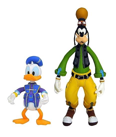 Amazon com: DIAMOND SELECT TOYS Kingdom Hearts 3: Goofy & Donald