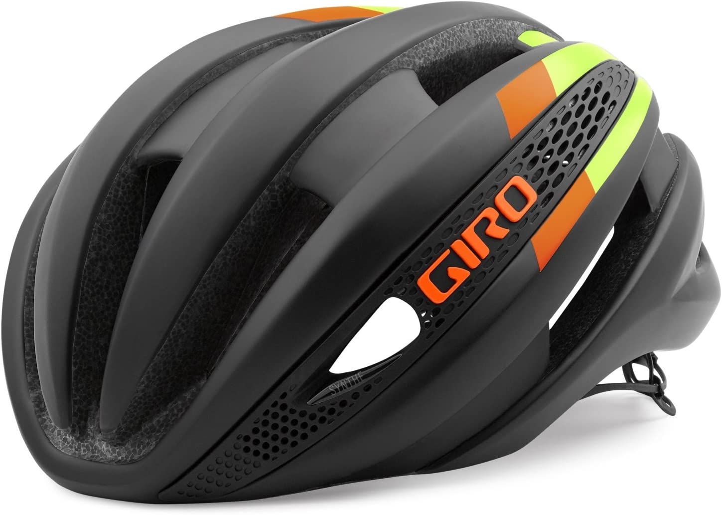 Giro Synthe Aero Road Helmet – Closeout Large Matte Black Green