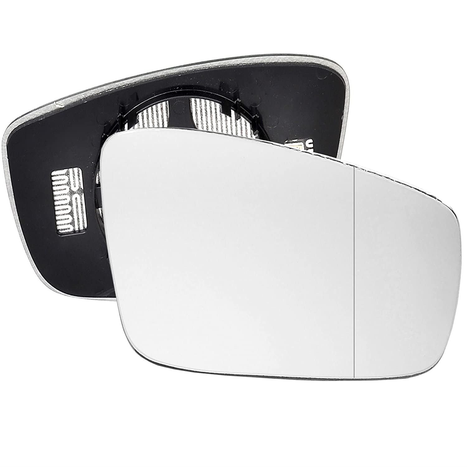 For Seat Mii 2011-2016 Driver right hand side wing door mirror wide angle glass heated with backing plate