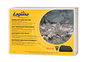 Laguna Pond Netting 15 Feet x 12 Feet with Placement Stakes