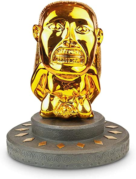 Toynk Indiana Jones Fertility Idol Statue Set with Base   Premium Movie Replica