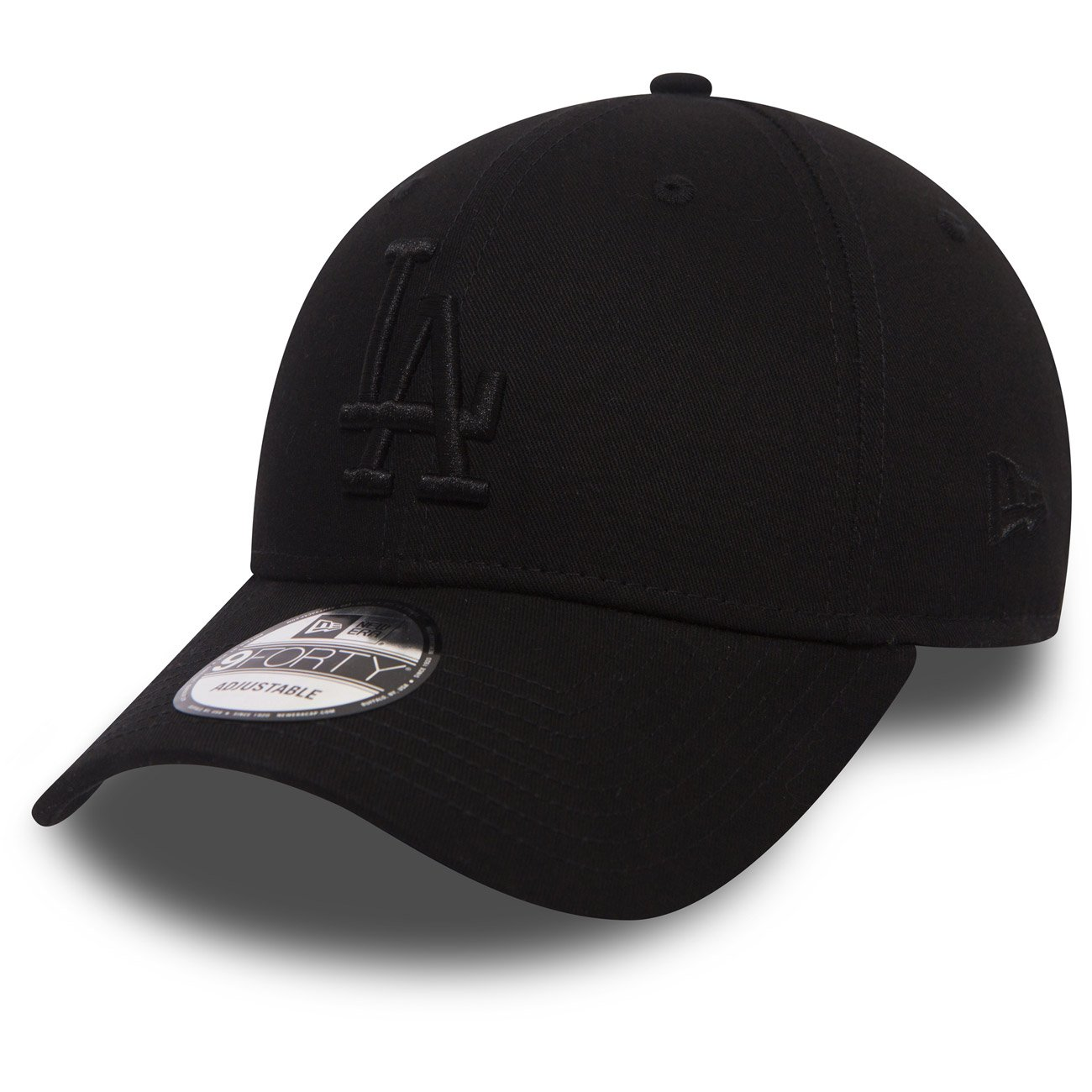New Era League Essential 940 Los Angeles Dodgers Black/Black Cuffia 9 FORTY Uomo, Nero, Fr: taglia unica (taglia produttore: Osfa) NEXSJ|#New Era 80524685
