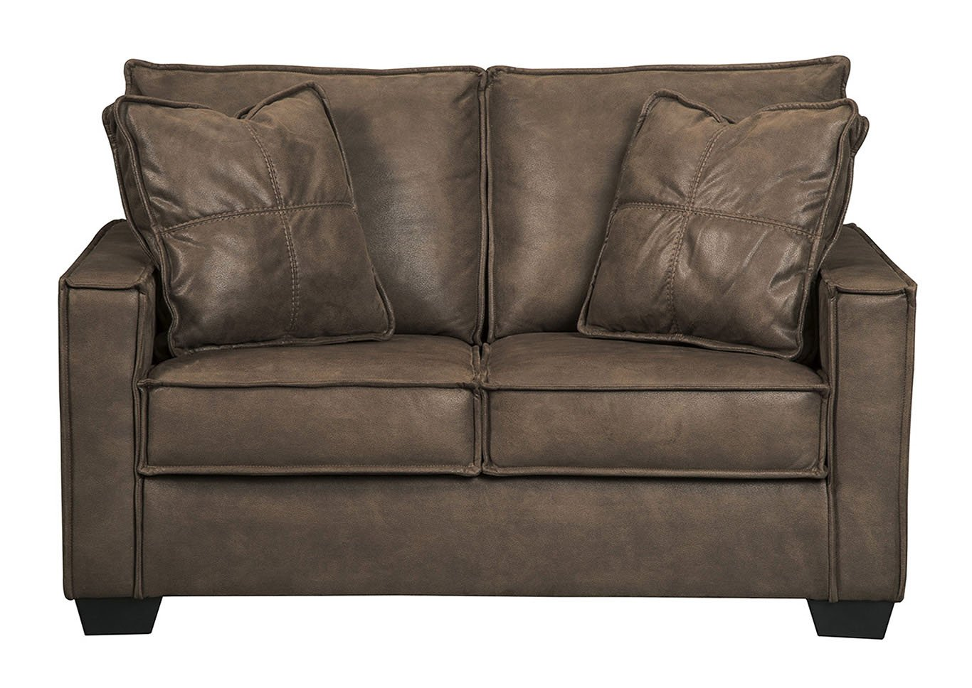 Ashley Furniture Signature Design - Terrington Contemporary Upholstered Loveseat - Harness 9290335