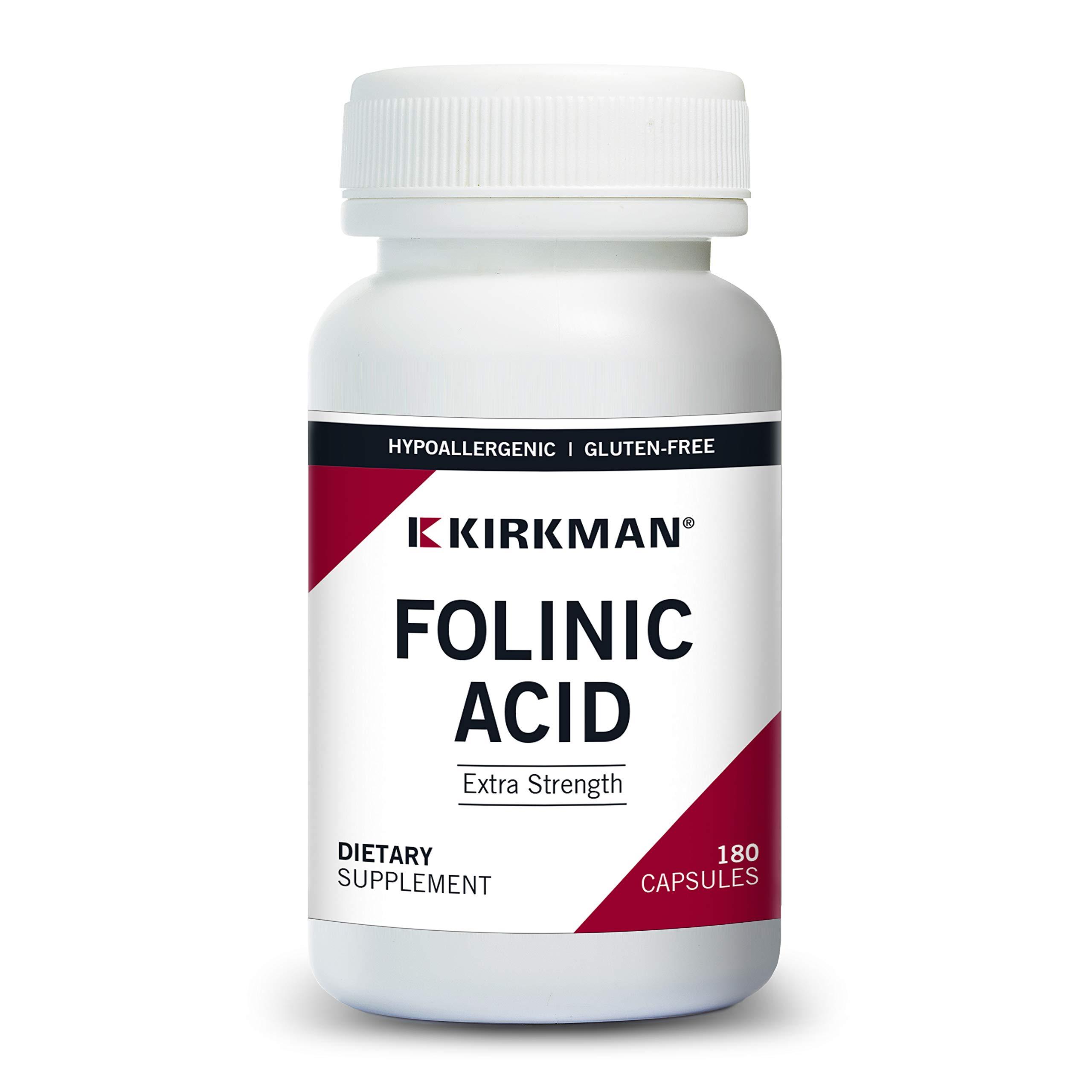 Folinic Acid 800 mcg Capsules - Hypo - 180 ct