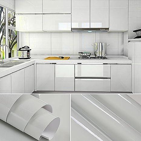 PVC Adesivi mobili 0.61*5M autoadesive rotoli carta rinnovato mobili  decorativi carta adesiva da cucina kitchen Sticker Adesivi murali  impermeabili ...