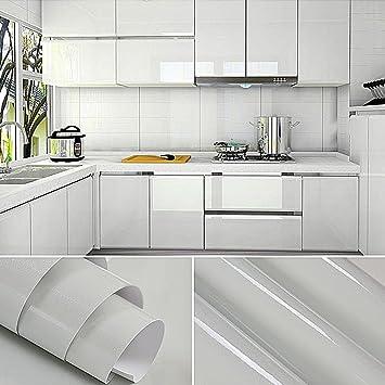 Genial KINLO 5M Papier Peint Adhsif Rouleaux Pour Armoires De Cuisine En PVC Self  Adhesive Autocollant Meubles